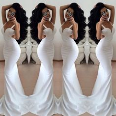 white prom dress,backless Prom Dress,long prom dress,sexy prom dress,evening dress,BD1360