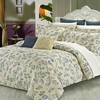 North Home Wedgewood Duvet Cover Set