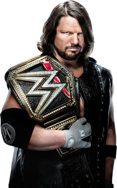 AJ Styles WWE Champion TLC 2016 PNG by AmbriegnsAsylum16 on DeviantArt