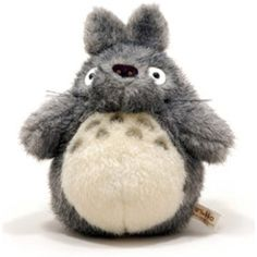 "My Neighbor Totoro 7"" Dark Grey Plush >>> You can get more details by clicking on the image. (This is an affiliate link) #Puppets"