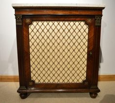 A Beautiful Rosewood Regency Period Antique Side Cabinet Possibly By Gillows Of Lancaster