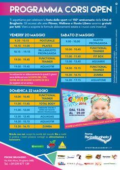 il 20-21-22 maggio festa dello Sport alle Piscine di Brugherio, Inkospor è presente !