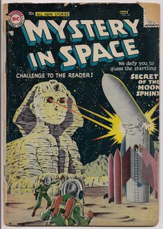 MYSTERY in SPACE 36 Gardner Fox available at #@qualitycomicsamerica #@sashakeen #4vintagecomics #Vintage #gotvintage #scifi #DC Comics #Vintage Comics #comics #comicbooks
