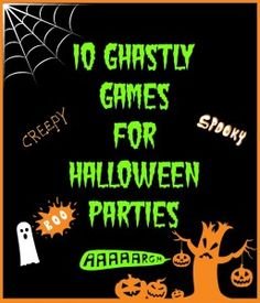 Halloween games - Save More Spend Less with Heidi Don't Eat Frank, Spider web walking, spider web trap and Vampires at dark