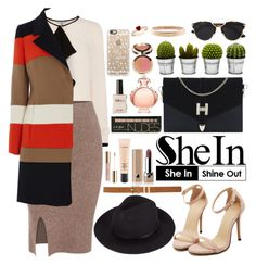 """""""Shein"""" by oshint ❤ liked on Polyvore featuring Billabong, Marc Jacobs, Paco Rabanne, MAC Cosmetics, Ciaté, Christian Dior, Casetify, M&Co, Chanel and women's clothing"""