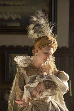 every piece of Elizabeth's costume is a piece of art.