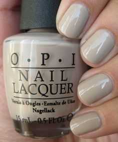 OPI - Did You 'Ear About Van Gogh? Have this on my nails now, such a great color