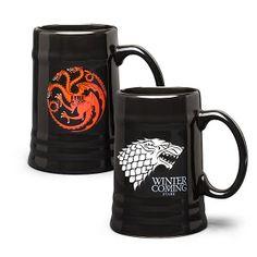 ThinkGeek :: Game of Thrones Ceramic Steins