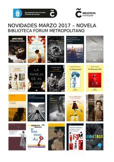 Novidades de Novela na Biblioteca Forum Metropolitano