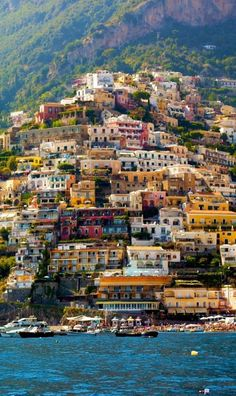 Beautiful Positano, Amalfi Coast, Italy - photography by Francesco R. Iacomino