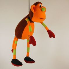 The Original Springy Monkey Mobile | When I Was a Kid