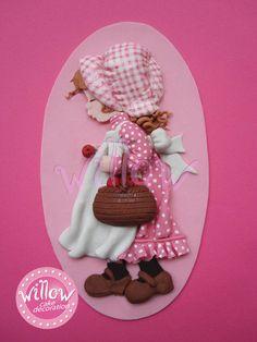 Sarah Kay, decorazioni per dolci fondente