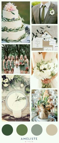 Mood-Board Wedding Sage Green // Wedding Inspirations boards wedding 7 Popular Wedding Color Schemes for Elegant Weddings Popular Wedding Colors, Trendy Wedding, Elegant Wedding, Our Wedding, Dream Wedding, Celtic Wedding, Garden Wedding, Olive Wedding, Sage Green Wedding