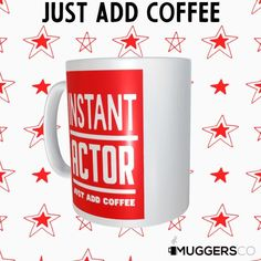 This, Instant Actor Coffee Mug makes for a cool funny gift that speaks of a person's passion for Acting and coffee.