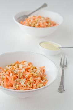 Ensalada de zanahoria | http://danzadefogones.com/ensalada-de-zanahoria/