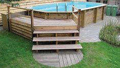 Aanleg houten zwembad