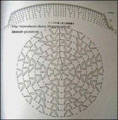 TEJIDOS A CROCHET - GANCHILLO - PATRONES: BOINAS , GORRITOS ,SUS DIAGRAMAS A CROCHET