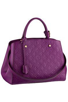 Louis Vuitton - Women's Accessories - 2014 Spring-Summer #purple #beautyinthebag