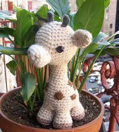 Baby Giraffe-Instant Download Crochet Pattern-Toy