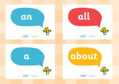 Twinkl Resources >> High Frequency Words >> Printable resources for Primary, EYFS, KS1 and SEN.  Thousands of classroom displays and teaching aids! Literacy, English, Posters, High Frequency Words