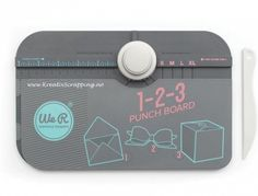 Ideal for creating envelopes, boxes and bows, this punch board's scoring tool features a fold-out arm with measurements and an extended score line. Includes score board with a three-way punch, scoring tool and idea W x H x DPlastic / metalImported Envelope Punch Board, Scrapbook Supplies, Craft Supplies, Boutique Scrapbooking, Boxes And Bows, We R Memory Keepers, Custom Envelopes, Tampons, American Crafts