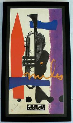 Miles Davis – Signed Limited Edition Promotional Poster