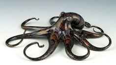 Beautiful Hand-Blown Glass Creatures by Scott Bisson http://designwrld.com/hand-blown-glass-creatures-scott-bisson/
