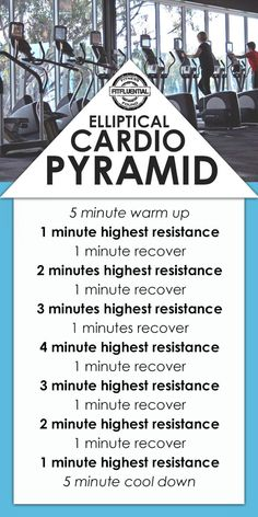 Cardio workout - 50 minute elliptical pyramid   Posted By: NewHowtoLoseBellyFat.com  