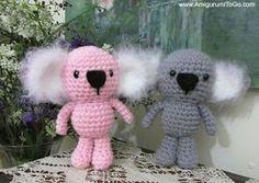 Free Amigurumi Koala Pattern : Amigurumi koala by djonesgirlz on deviantart