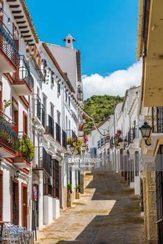 Zahara de la Sierra | Cadiz Province, Andalusia, Spain. | #stockphotos #gettyimages #print #travel