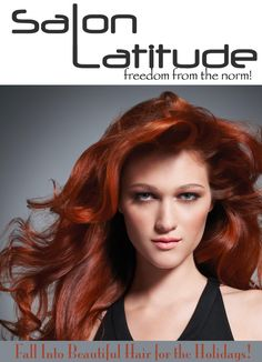 Fall into Beautiful Hair at Salon Latitude! 843-886-8181 www.SalonLatitude.com