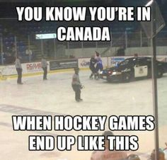 You Know Youre If —canada When Hockey Games. ~ Memes curates only the best funny online content. The Ultimate cure to boredom with a daily fix of haha, hehe and jaja's. Funny Shit, Funny Jokes, Funny Hockey Memes, Funny Stuff, Hockey Puns, Funny Things, Funny Police, Funniest Jokes, Police Humor