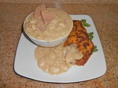 Chef JD's Comfort Cuisine: The Daily Beans!  Lima Beans & Smithfield Ham with...