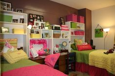 Dorm room space is limited so every inch needs to be planned out.  Read tips and tricks from professional organizer Amanda LeBlanc for getting the most out of dorm living with style!