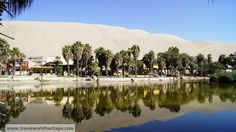 Huacachina Oasis, the only true oasis in the Americas