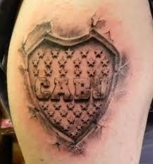 Resultado de imagen para tatuajes de boca juniors tribal