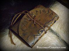 Viking Leather Journal / Moleskin Cover от BeastmanCaravan на Etsy