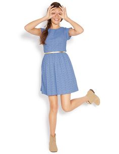 I've spotted this @BodenClothing Broderie Fifties Dress