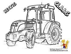 Les 10 meilleures images de tracteur | Tracteur, Coloriage ...