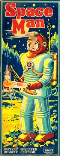 1950s Space Man Toy ~ Sonsco (Japan)