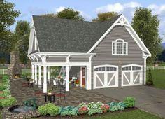 Garage Plan 85372 | Pinterest | Garage apartment plans, Garage ...