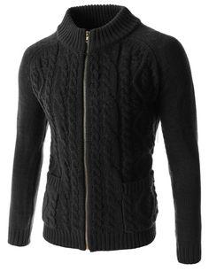(TNC03-BLACK) Knit Cardigan