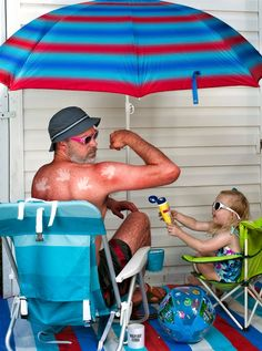 This guy's pictures of his daughter are amazing! Dave Engledow: sunburn