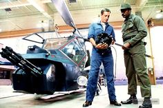 Blue Thunder - Publicity still of Roy Scheider & Ed Bernard. The image measures 600 * 400 pixels and was added on 27 February Movie Pic, Movie Cars, Roy Scheider, Fly Plane, Zombie Hunter, The Good Old Days, Action Movies, American Actors, Scale Models
