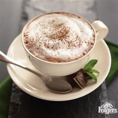 Chocolate Mint Cappuccino from Folgers Coffee