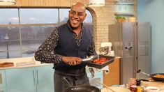 Ainsley Harriott helps kickstart the New Year declutter in the store cupboard. Get ready to raid your condiments for his sticky chicken thighs, hot slaw and sweet potato wedges! Catch up with the last week of This Morning on ITV Player