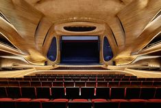 A Sinuous Opera House By MAD Architects