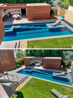 Swimming pool inspiration from a home in California.