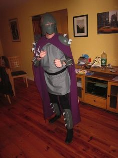 Shredder Halloween Costume!