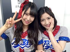 Watanabe Mayu (渡辺麻友) & Shiroma Miru ( 白間美瑠) - NMB48 - Team M #gravure #jpop #idol #nmb48 #beautiful #japan
